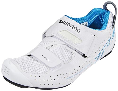 Zapatos blancos con velcro Shimano MTB para mujer QzA0Z